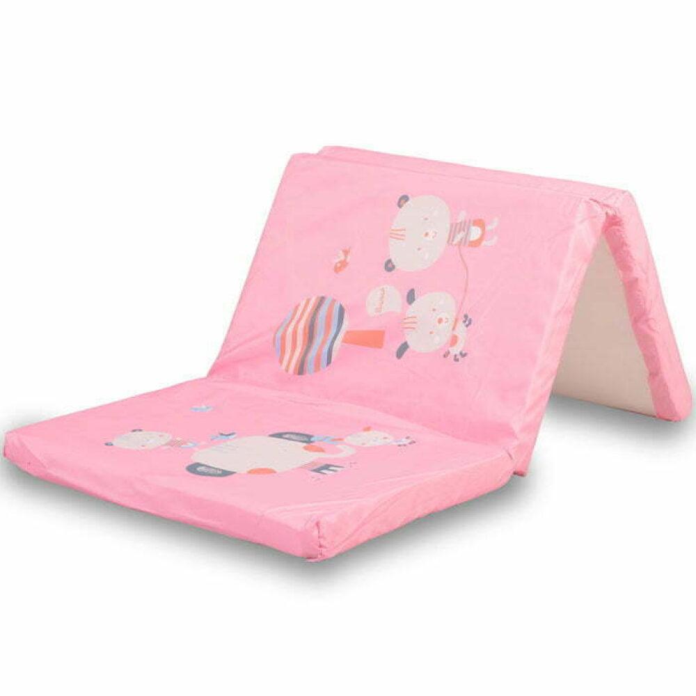 Podloga za prenosivi krevetić Pink