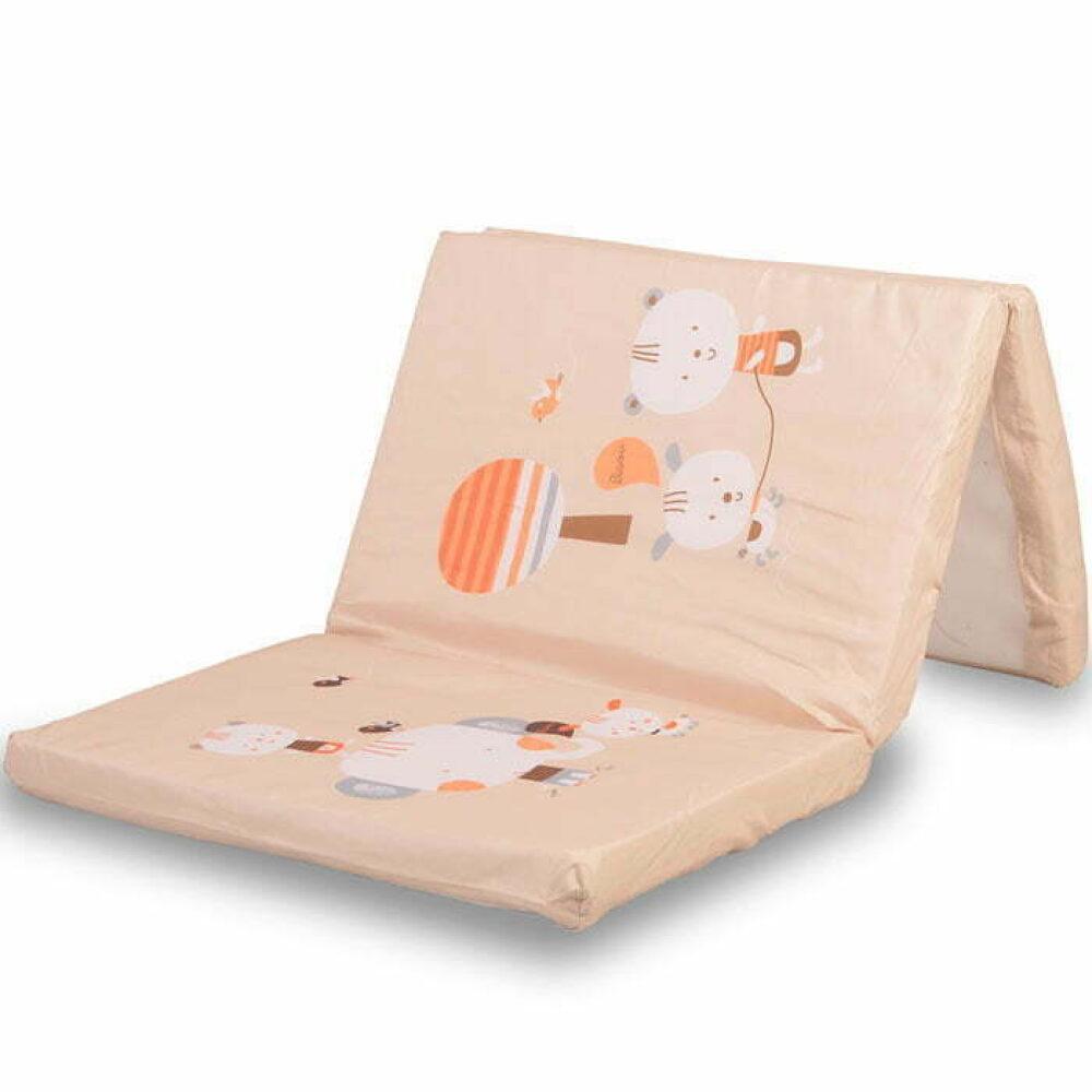 Podloga za prenosivi krevetić Beige