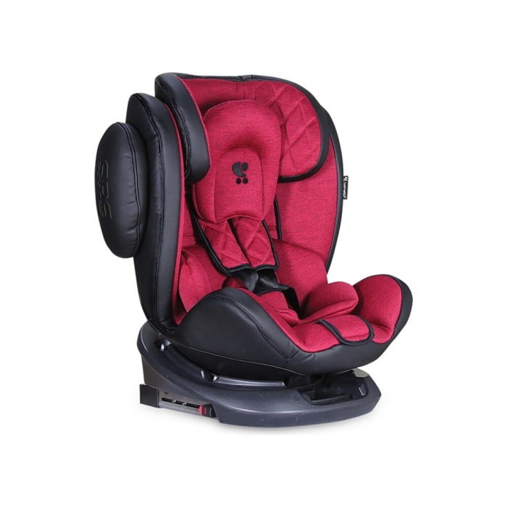 AUTOSEDISTE AVIATOR 0-36 KG ISOFIX BLACK / RED