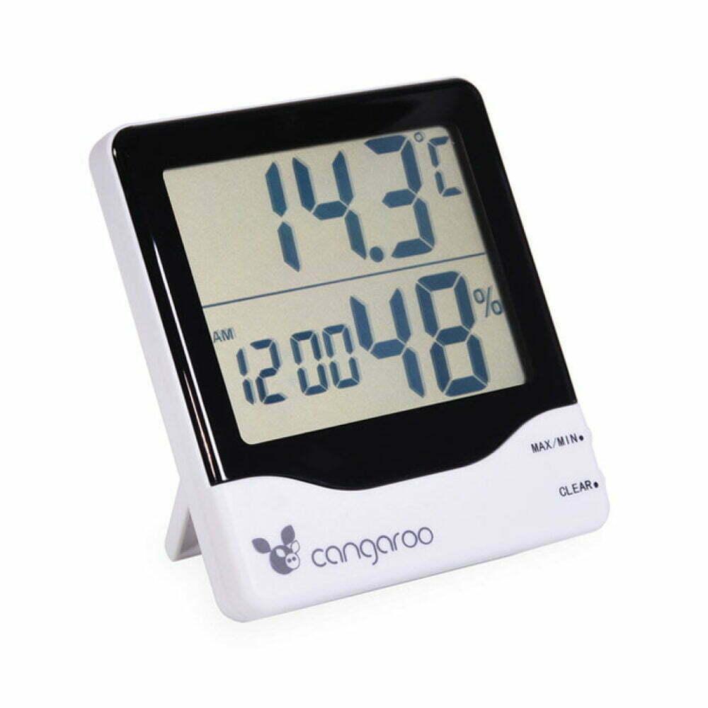 Digitalni termometar 3u1 Sa satom i budilnikom