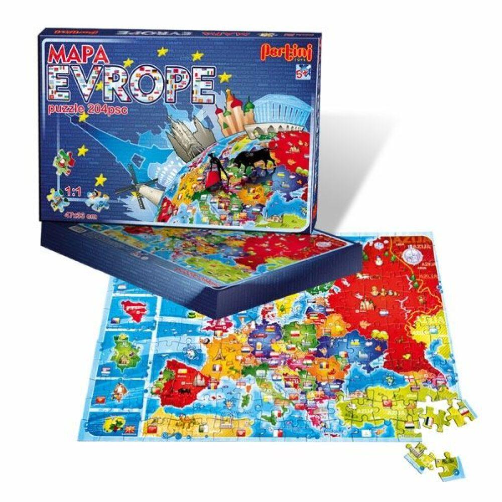 Pertini Mapa Evrope