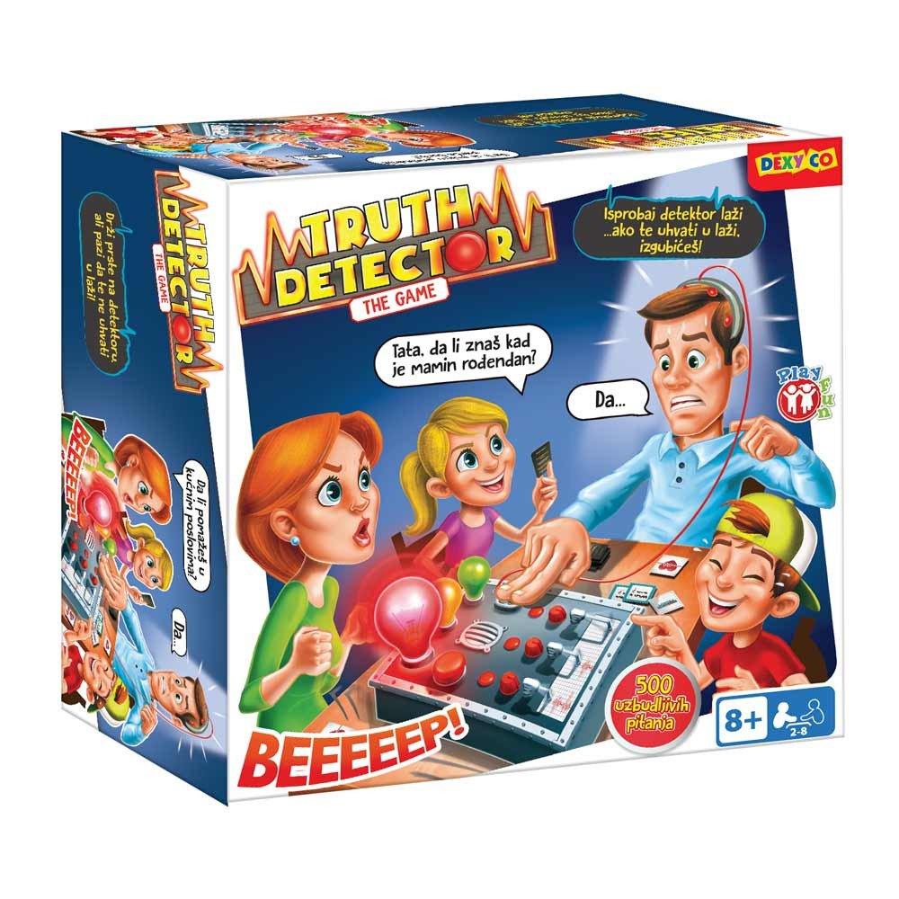 Detektor Lazi Drustvena Igra