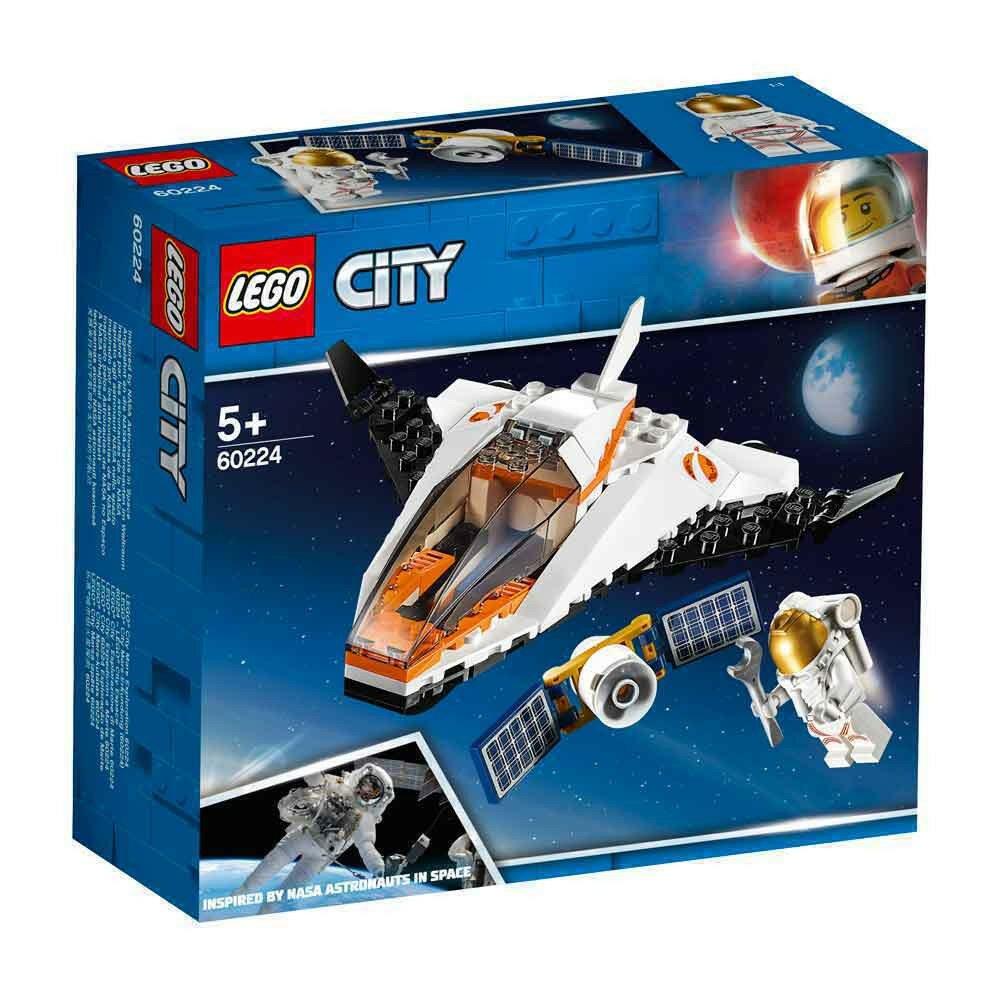 LEGO CITY SATELLITE SERVICE MISSION