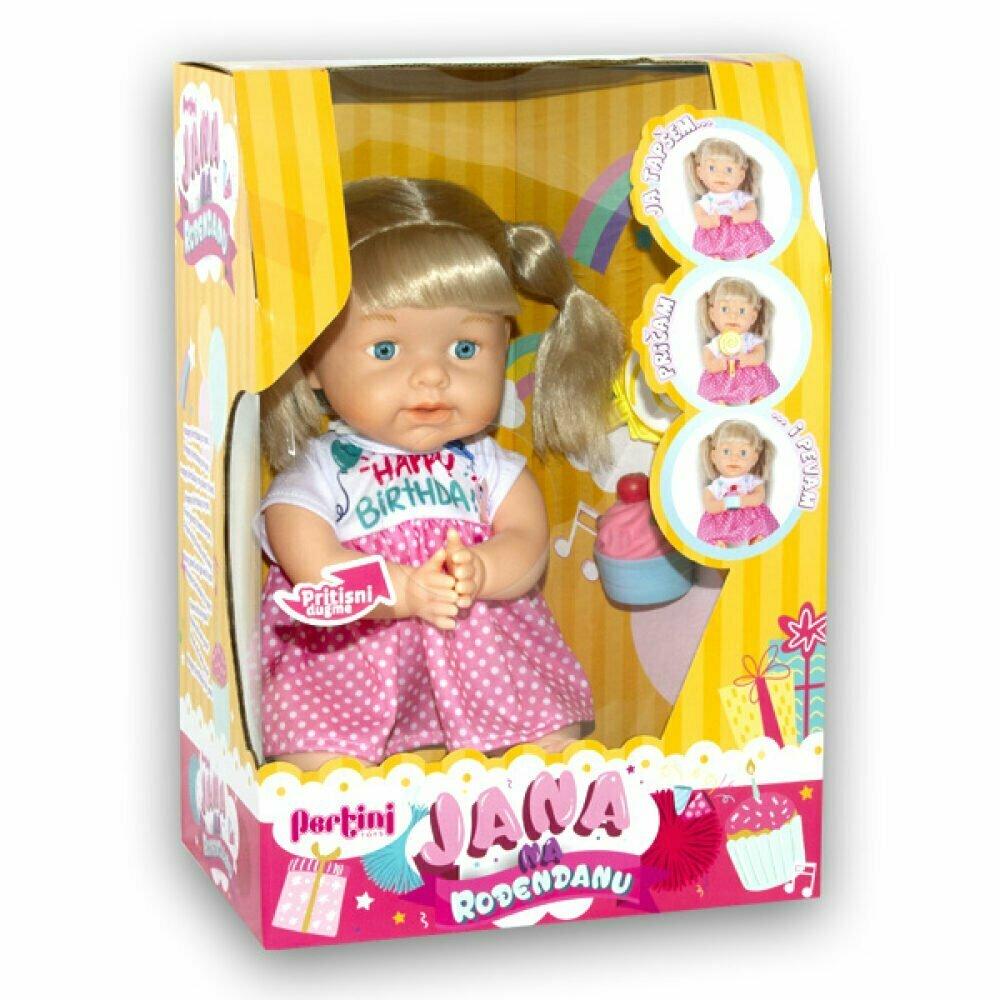 Lutka Jana na rođendanu