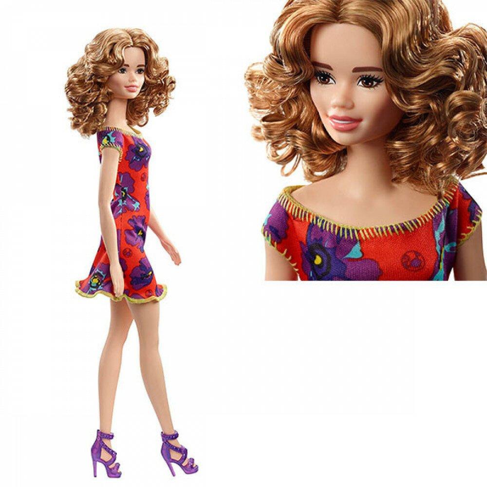 Barbie lutka sa cvetnom haljinom